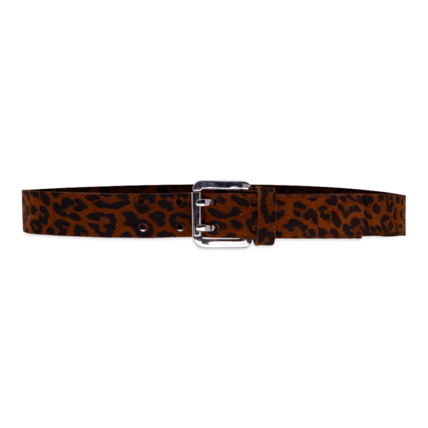 Army belt 0.30 animalier tobacco closed