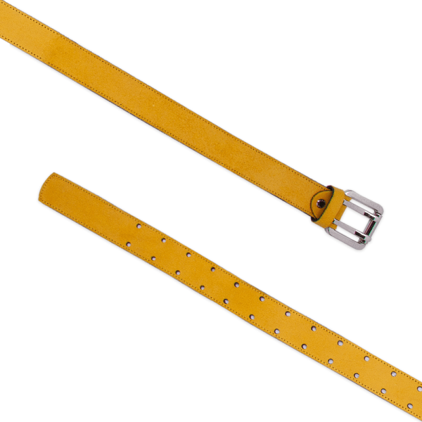 Army belt 0.30 yellow open