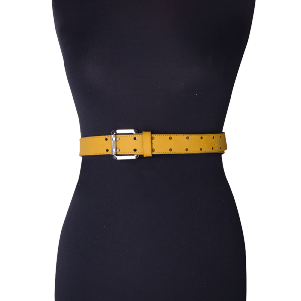Army belt 0.30 yellow mannequin