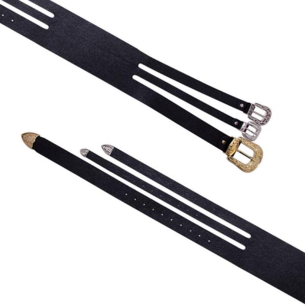 Cintura Bustier cod.105 nera aperta