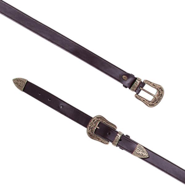 Cintura Double West cod. 0.25 testa di moro aperta