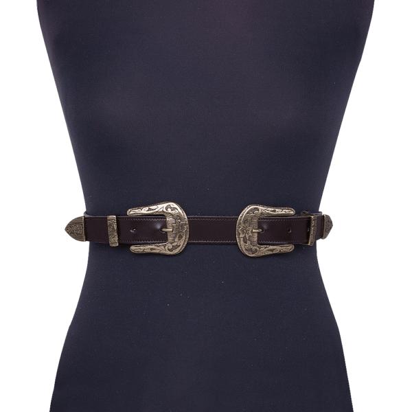 Cintura Double West cod. 0.25 testa di moro