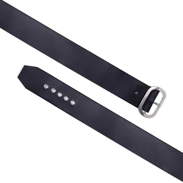 belt over eye black belt open