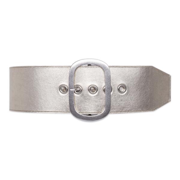 cintura over occhiello platino cintura chiusa