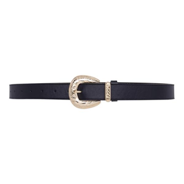 Cintura single west Nera e oro 030 chiusa