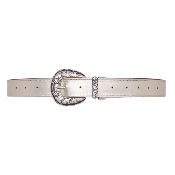 Cintura single west platino 030 chiusa