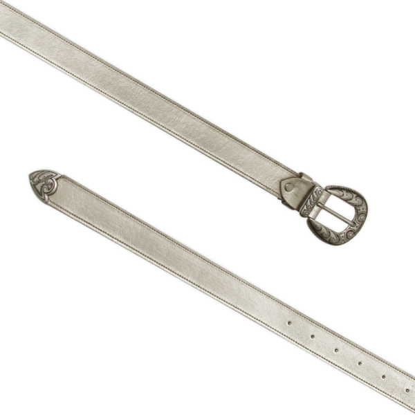 Cintura single west platino 030 aperta