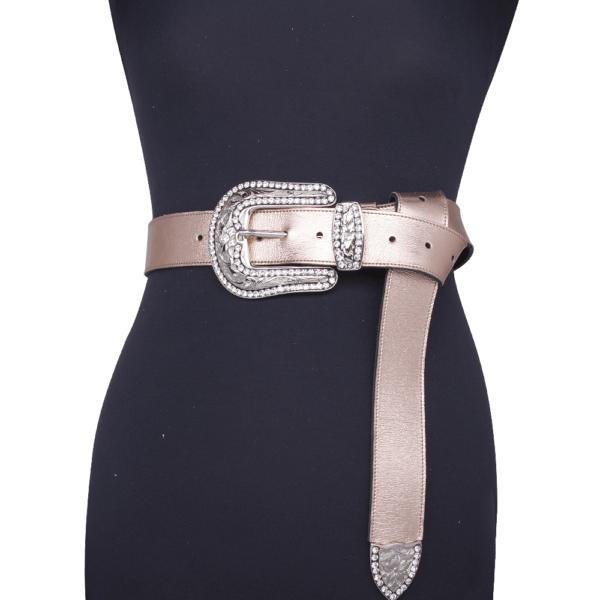 cintura wonder woman cipria jewels 040 su manichino