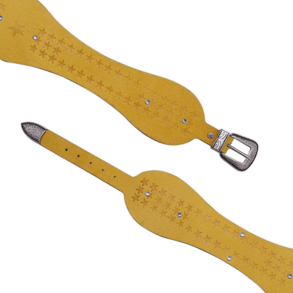 Yellow wonder woman open belt